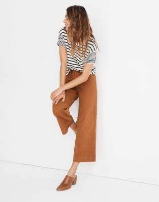 Stylish Wide Leg Pants