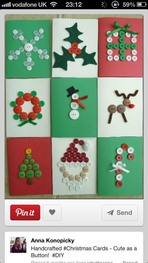 #homemade #Christmas #Cards