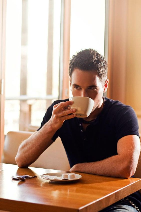 navy tees drinking coffee and coffee on pinterest. Black Bedroom Furniture Sets. Home Design Ideas