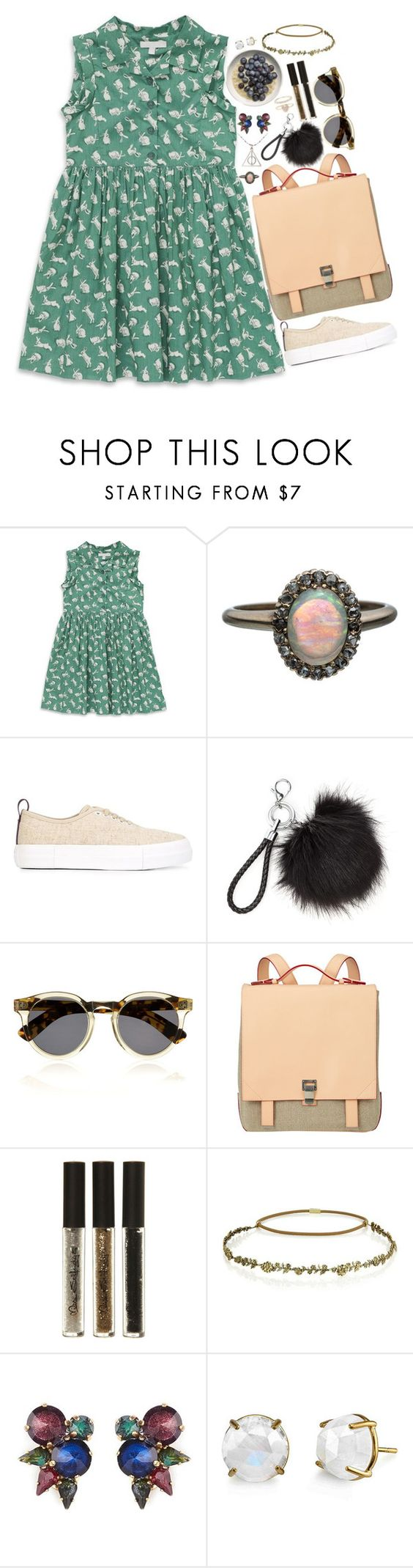 """❤"" by polinachaban ❤ liked on Polyvore featuring Marie Chantal, Alexis Bittar, Eytys, Illesteva, Proenza Schouler, Miss Selfridge, Jennifer Behr, Erickson Beamon, Irene Neuwirth and Accessorize"