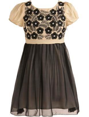 Silk Garden Dress #ricketyrack