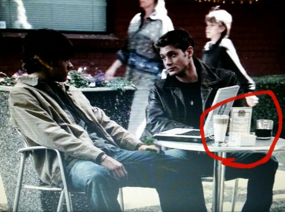 Can we acknowledge their drinks? Like, Dean has simple black coffee, and Sammy had some hoity toity drink. Lolz.