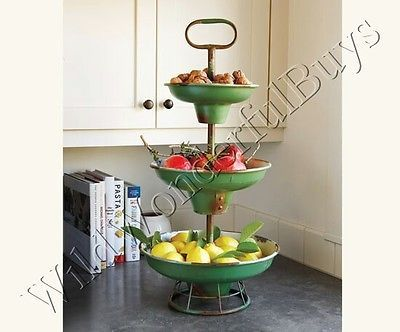 how to make a 3 tier fruit wedding cake vintage rustic style 3 tier fruit basket tray market green 15778
