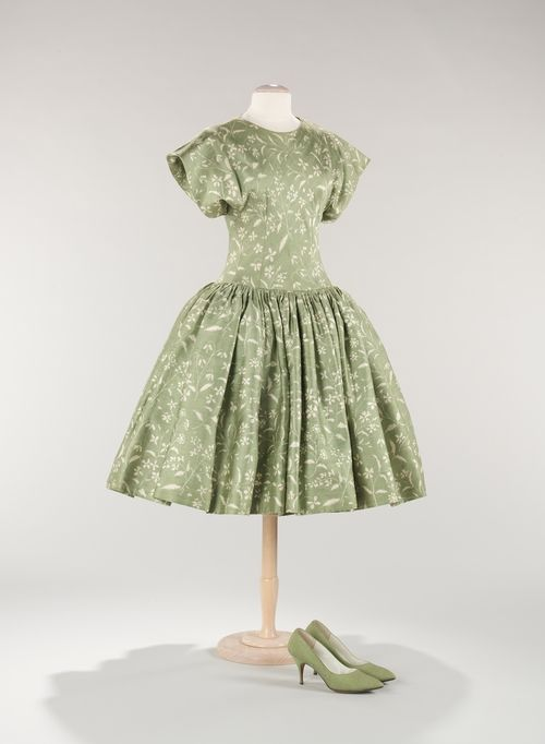 Norman Norell dress ca. 1956 via The Costume Institute of the Metropolitan Museum of Art