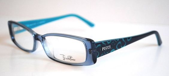 Authentic Designer Eyeglass Frames : Emilio Pucci Authentic Designer Eyeglass Frames! (Model ...