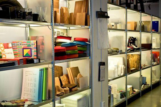 Materials Library Interior Design