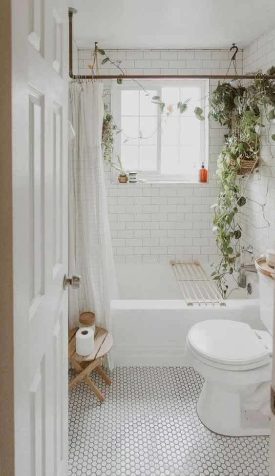 Check Out The 6 Best Ways To Clean Your Bathroom For Tiny Room Bathroom Design Inspiration Boho Bathroom Hygge Decor