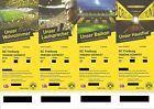 #Ticket  2(4)x TOP Tickets Dortmund BVB  SC Freiburg Sitzplatz Südwest-Tribüne Bl 37 #deutschland