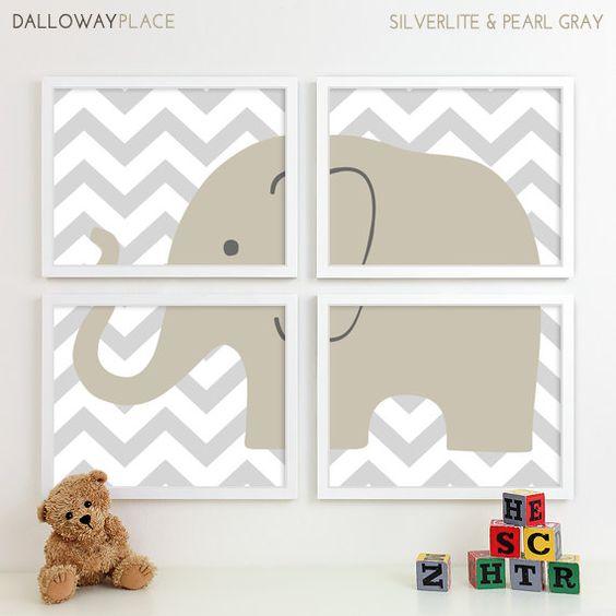 Kids Art for Children Baby Nursery Decor by DallowayPlaceKids