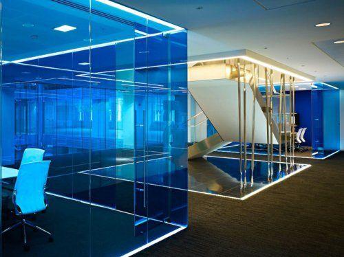 moderne büroeinrichtung google office steinboden