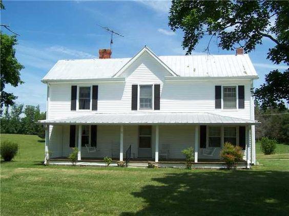 Clarksville VA, 1890 farm house being sold