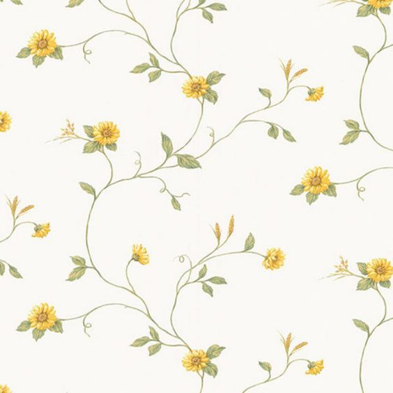 Manhattan Comfort Accentuations Debary Floral Wallpaper - NWKV27408