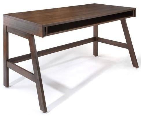 Multimedia-Schreibtisch / modern / Holz TRUNDLE by Eric Pfeiffer Offi
