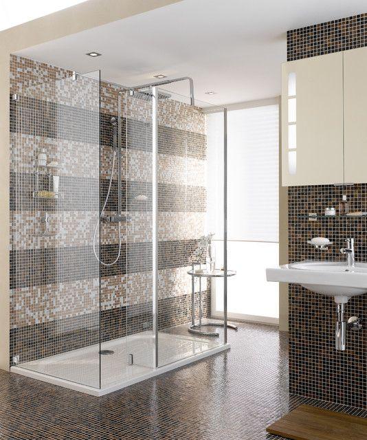 Shower Bar-Hand Shower Combo contemporary showers SCARLETT - schiebetür für badezimmer