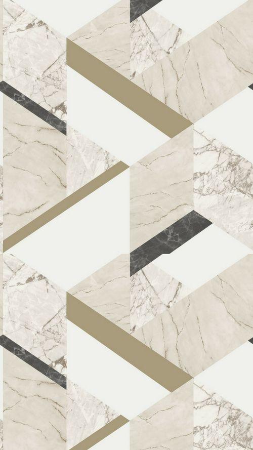 Marblesque Geometric Wallpaper Cream Marble Wallpaper Phone