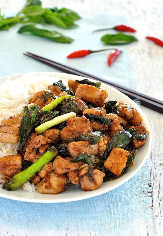 streets basil thai chicken chicken street thai basil chicken stir fry ...