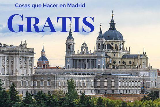 8 Cosas que Hacer en Madrid Gratis (o casi)