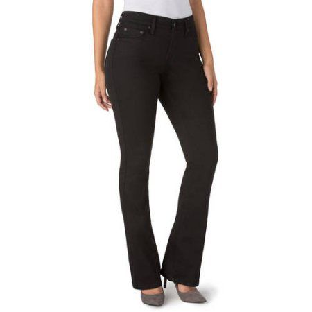 Signature by Levi Strauss & Co. Women's Totally Slimming At Waist ...