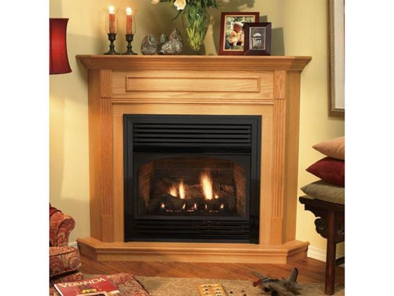 Corner Gas Fireplaces Home Option Corner Gas Fireplace Vent