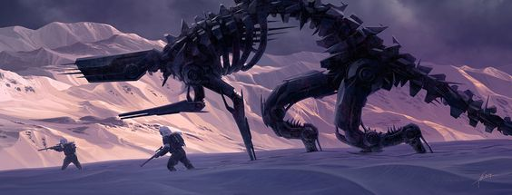 Crossing by Alexey Egorov | Robotic/Cyborg | 2D | CGSociety