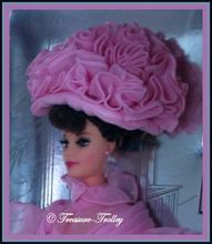 NIB Barbie My Fair Lady Hollywood Legends Collection Audrey Hepburn 1996 Pink Outfit SOLD