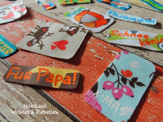 Stoffpflaster und Aufkleber für Eiskratzer, Puppendoktoren und Last-Minute-Geschenke (via Bloglovin.com )