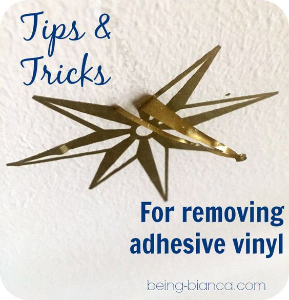 Pinterest o the worlds catalog of ideas for Vinyl lettering adhesive remover