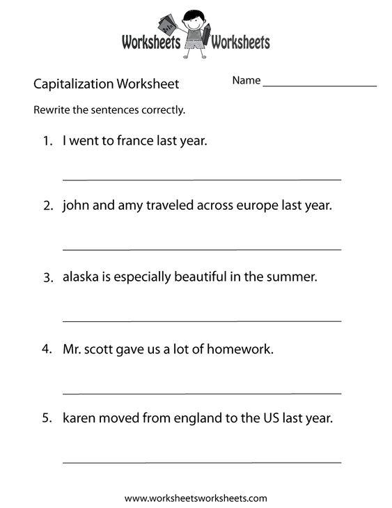 Educational Worksheets For Kindergarten. Kindergarten Worksheets ...