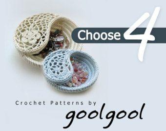 Crochet flower pattern. Plumeria Frangipani pattern by goolgool