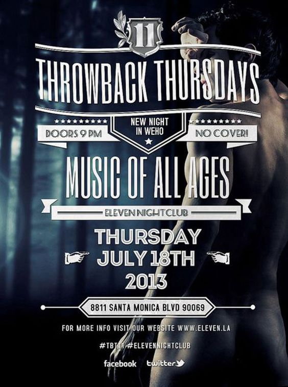 throwback thursday  flyers and design on pinterest