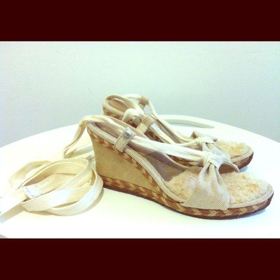 size 8 UGG espadrilles Very comfy UGG espadrilles, not my style. UGG Shoes Espadrilles