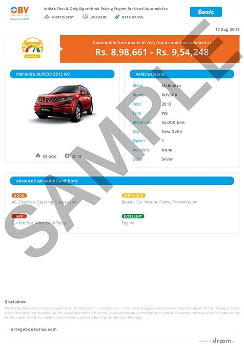 Check Vehicle Value Used Car Bike Valuation Tool Droom With