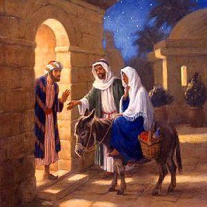 Joseph and Mary - No room at the Inn
