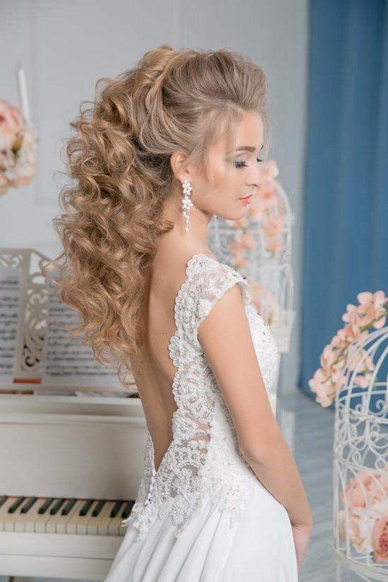 Art4studio Long Ponytail Wedding Hairstyles Wedding Hairstyles For Women Wedding Hairstyles Bride Hair Styles