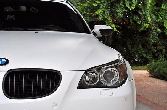 Matte White BMW M5