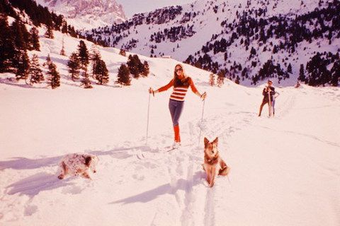 Vintage Photos of Pop Culture Icons Hitting the Slopes