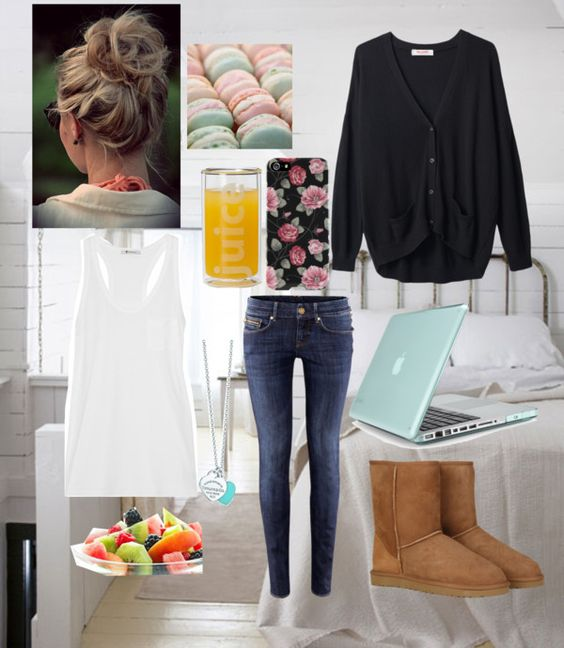 """""""Chilling round home :)"""" by elzisme ❤ liked on Polyvore"""