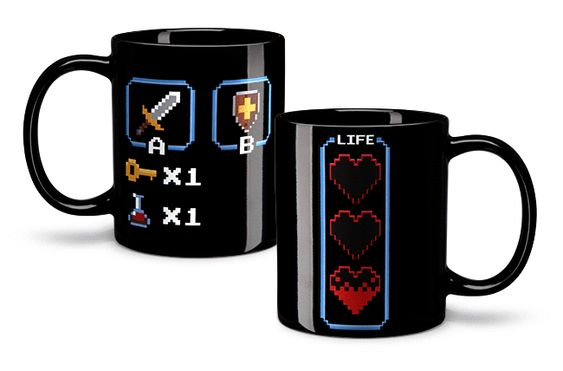8-Bit Legendary Hero Heat-Change Mug