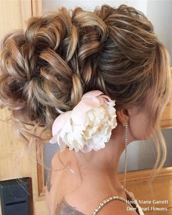 Long Updo wedding hairstyles from Heidi Marie Garrett #weddings #hairstyles #weddingideas #weddinghairstyles