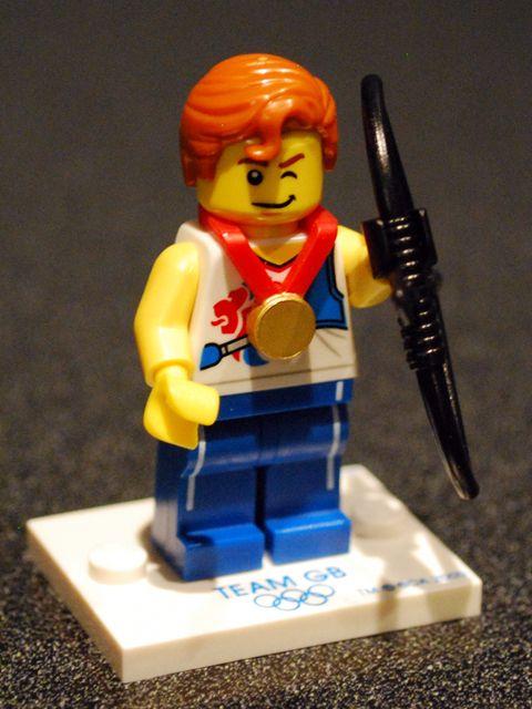 Olympic Lego archery #LEGO lego