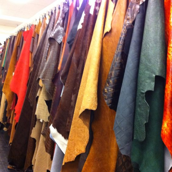 Leather fabric in TX
