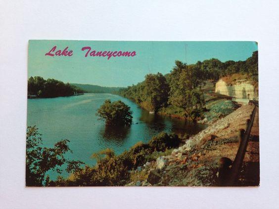 Vintage Hotel Taneycomo Branson Missouri Postcard Posted 1969 Curteichco