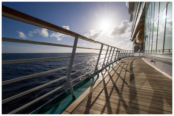 Sunshine and blue skies on Freedom of the Seas.