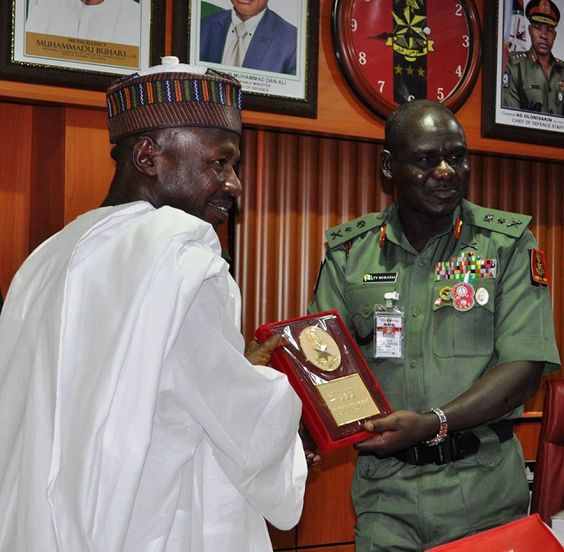 NIGERIAN MILITARY PLEDGED SUPPORT FOR EFCC IN ANTI-CORRUPTION FIGHT