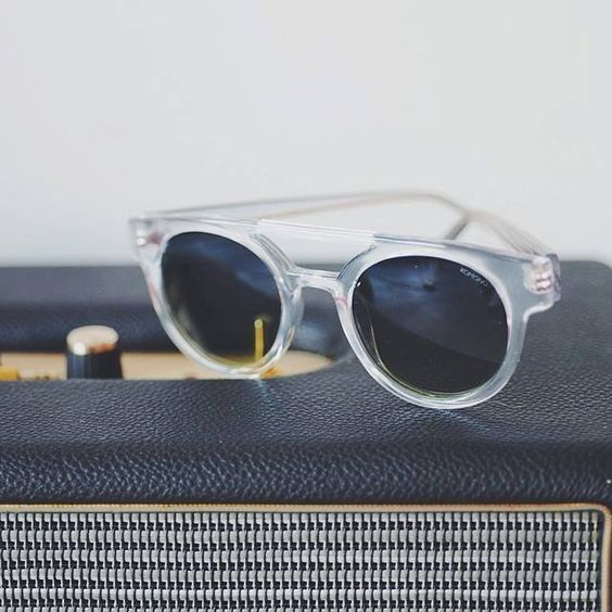 Dreyfuss Clear Sunglasses by Komono: