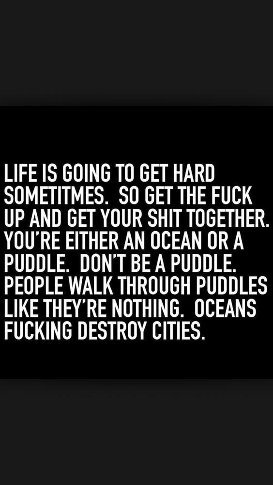Be an ocean !