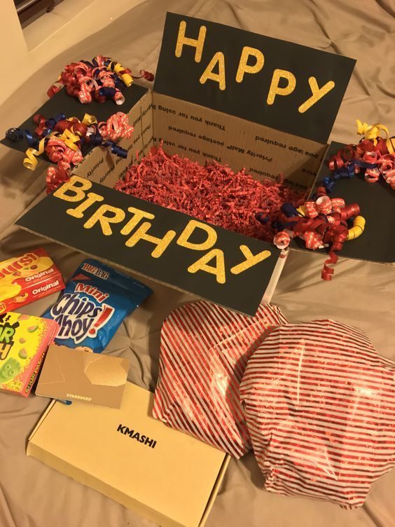 20 Creative And Unique Birthday Gifts Ideas For Your Loved One Lifestyle State Birthday Gifts For Boyfriend Diy Birthday Care Packages Unique Birthday Gifts