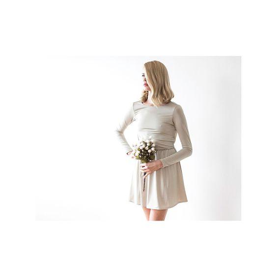 Mini Dress With Open Back LAVELIQ