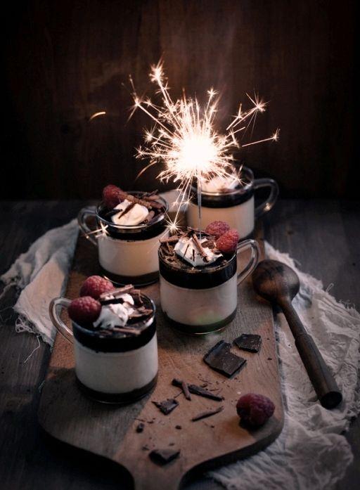 z- Individual- Baileys Panna Cotta & Tiramisu Trifles