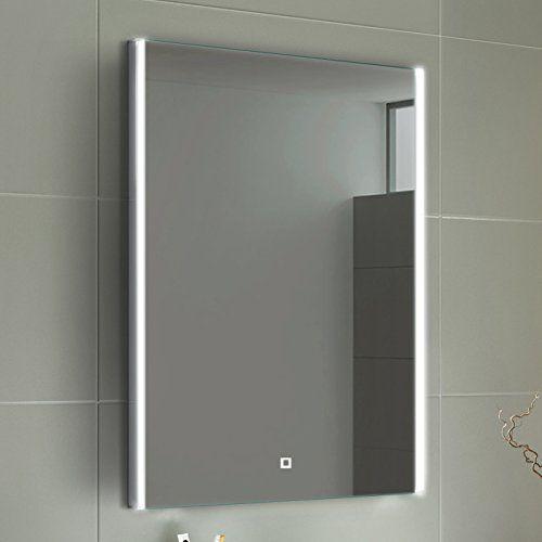 700 X 500 Mm Modern Illuminated Led Bathroom Mirror Light Touch Sensor Ml3100 Bathroom Mirror Led Mirror Led Mirror Bathroom